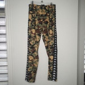 KAPPA - Camouflage track pants - NWT - large